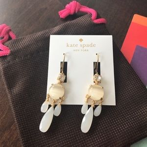 NWT Kate Spade Crystal Chandelier Earrings